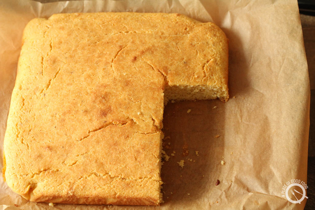 buttermilk cornbread recipe