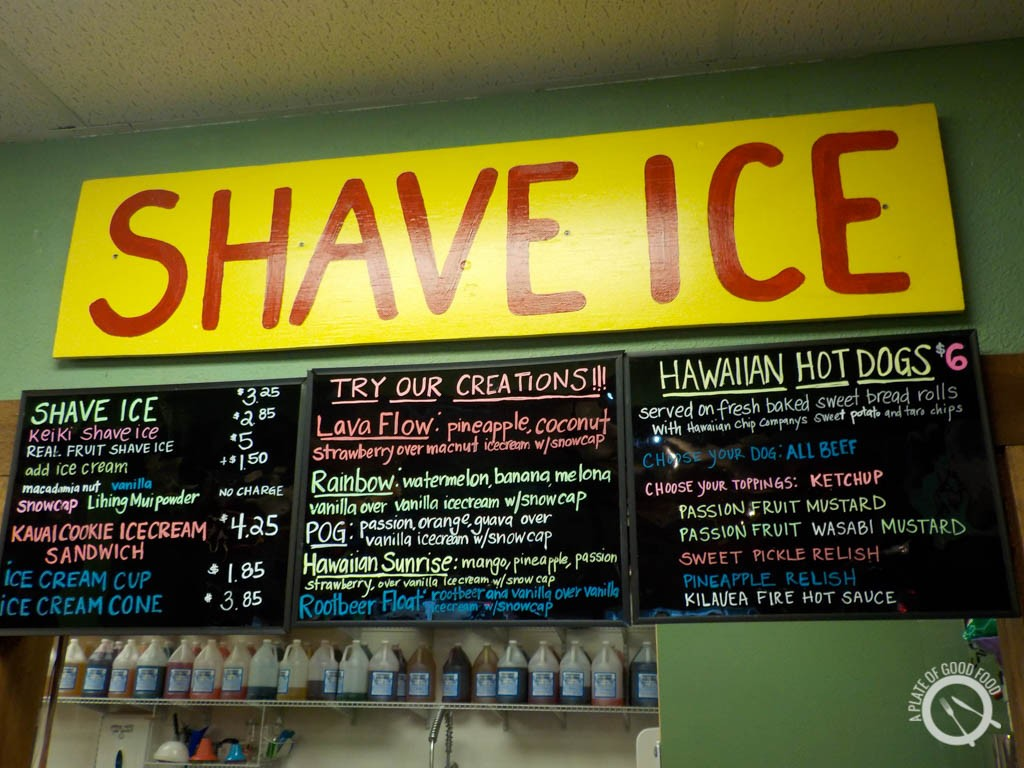shave ice hawaii